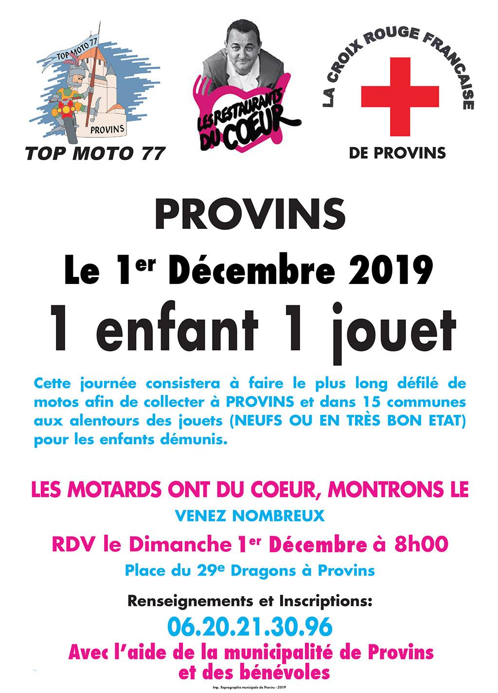 Provins – 1enfant 1 jouet