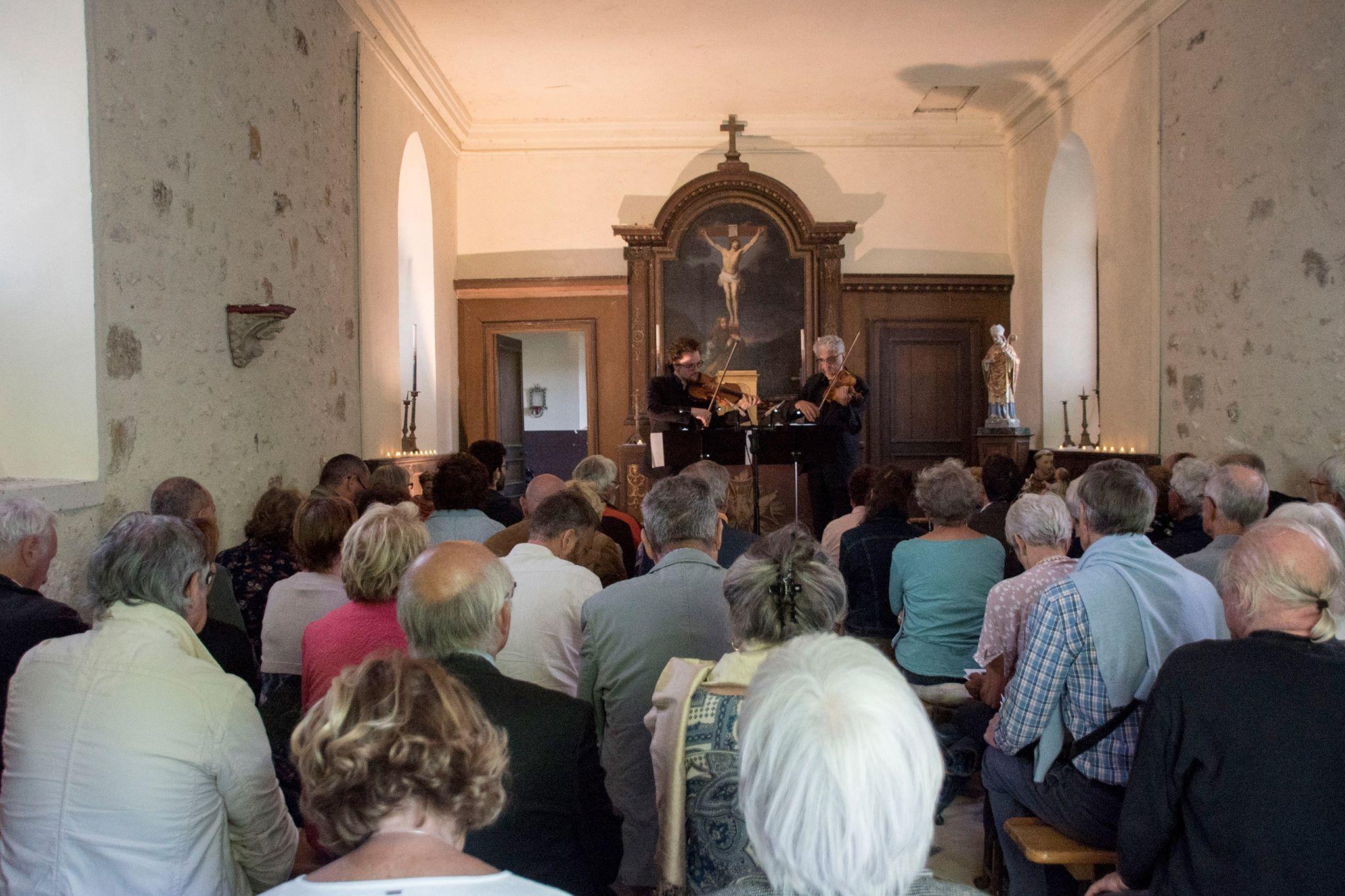 Chapelle du Château de Flamboin à Gouaix : Récital pour violon seul